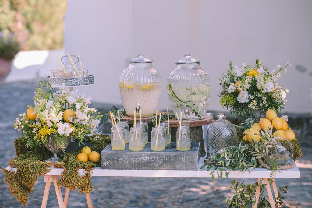 Akro Santorini wedding