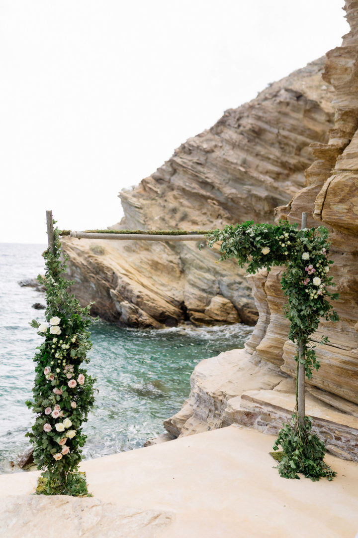 Ceremony arch in Ios Greece