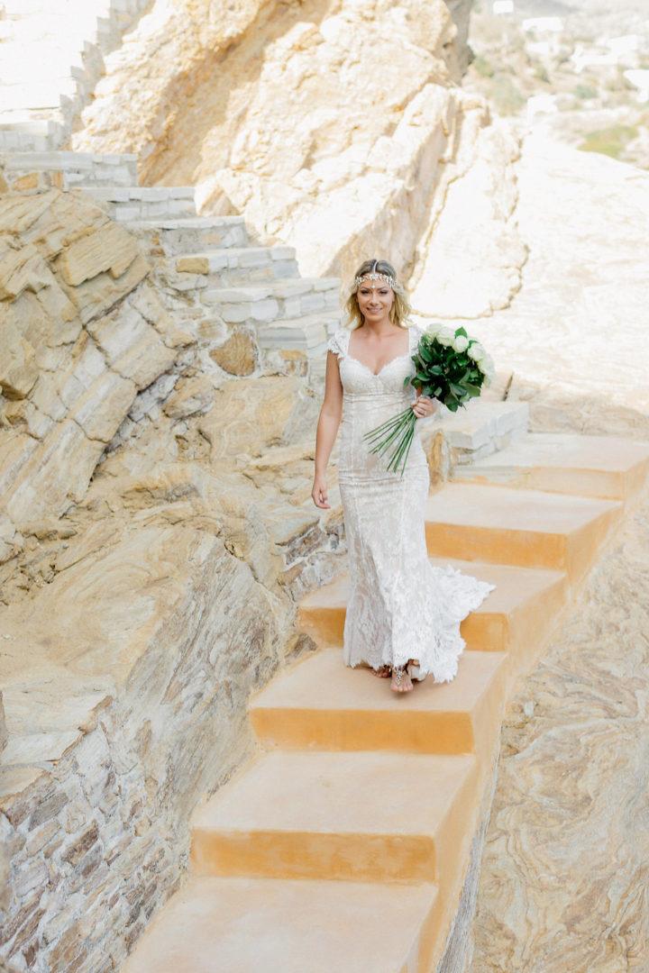 Bridal bouquet by redboxdays.gr in Ios