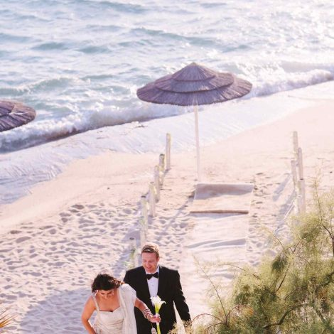Mykonos wedding decoration