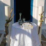 Στολισμός γάμου στην Κύθνο