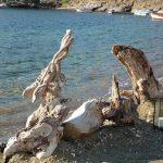 Διακόσμηση γάμου σε παραλία της Κύθνου