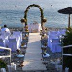 Γάμος στην παραλία Adrina Hotel Σκοπελος