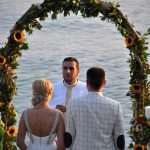 wedding ceremony at Skopelos