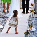 Διακόσμηση γάμου στην παραλία Σκοπελος