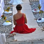 Skopelos wedding at a beach