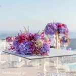 Tall  wedding centerpieces decoration in Santorini00002