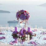 wedding decoration at La Maltese