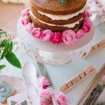 στολισμός τούρτας γάμου