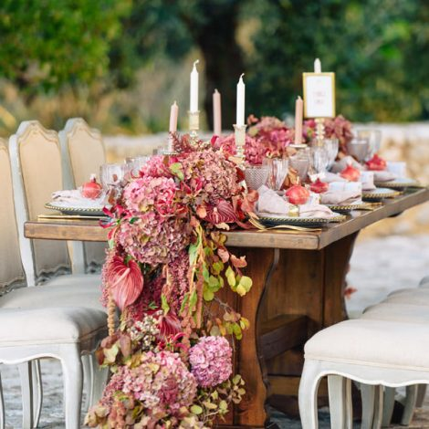 Marsala pantone wedding
