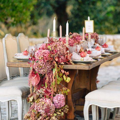 Marsala pantone wedding