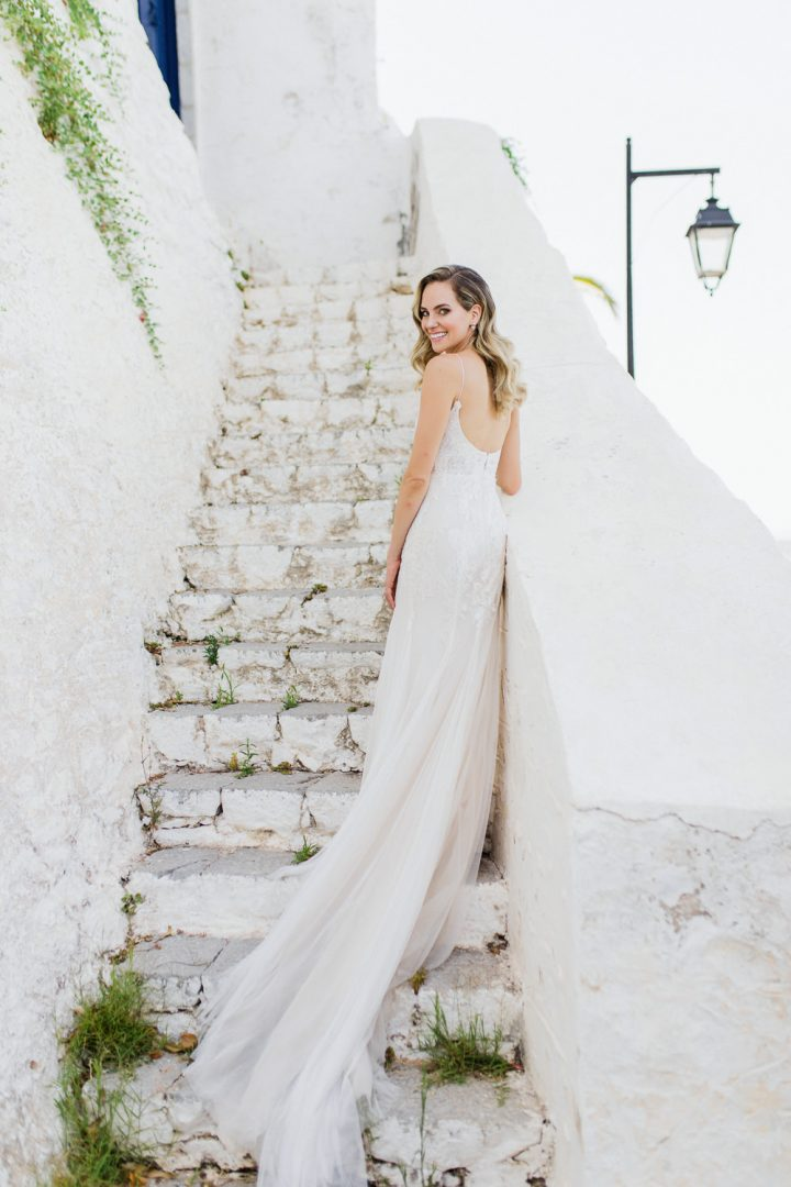 Spetses summer wedding