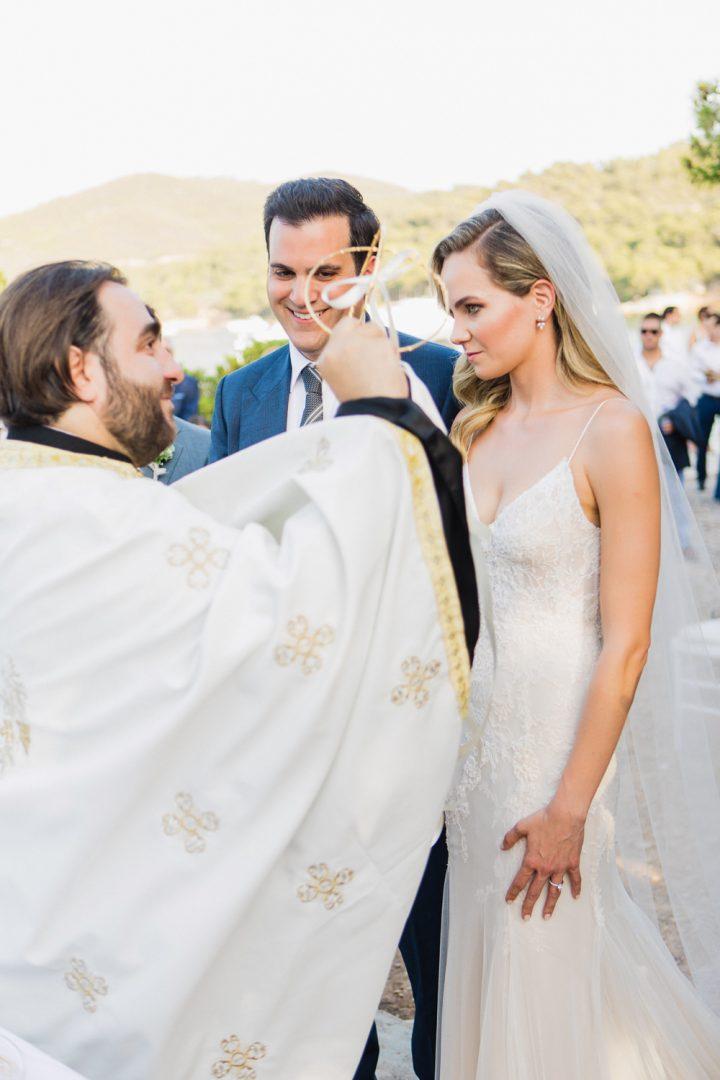 Spetses summer wedding
