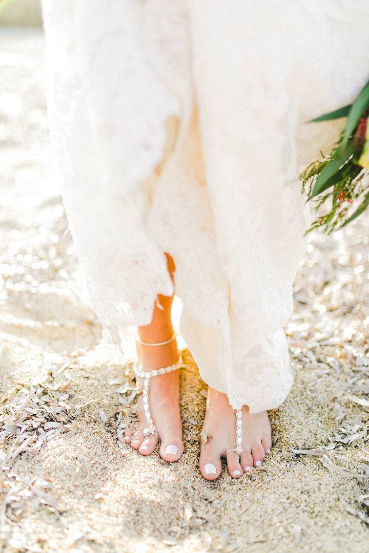 Boho wedding floral decoration Mykonos