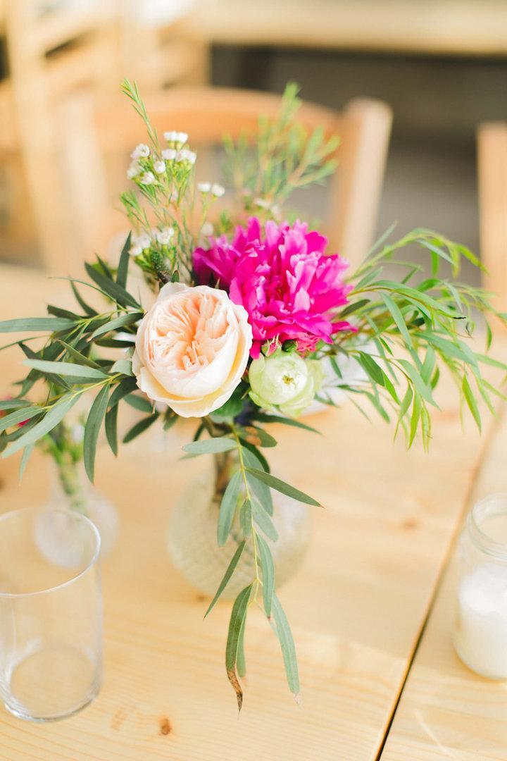Wedding floral decoration in Mykonos, Greece