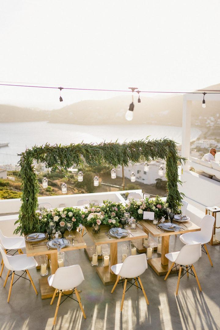 ios club wedding decoration