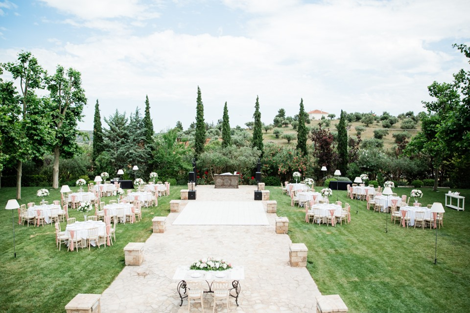 Wedding venue Pyrgos Petreza Athens
