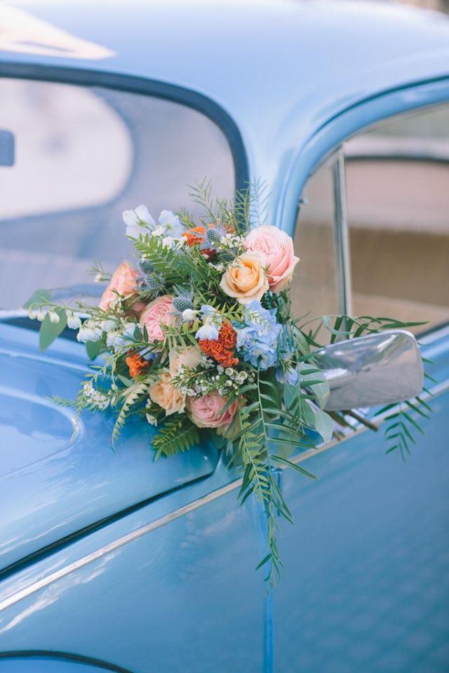 Wedding floral decoration at Ktima 48