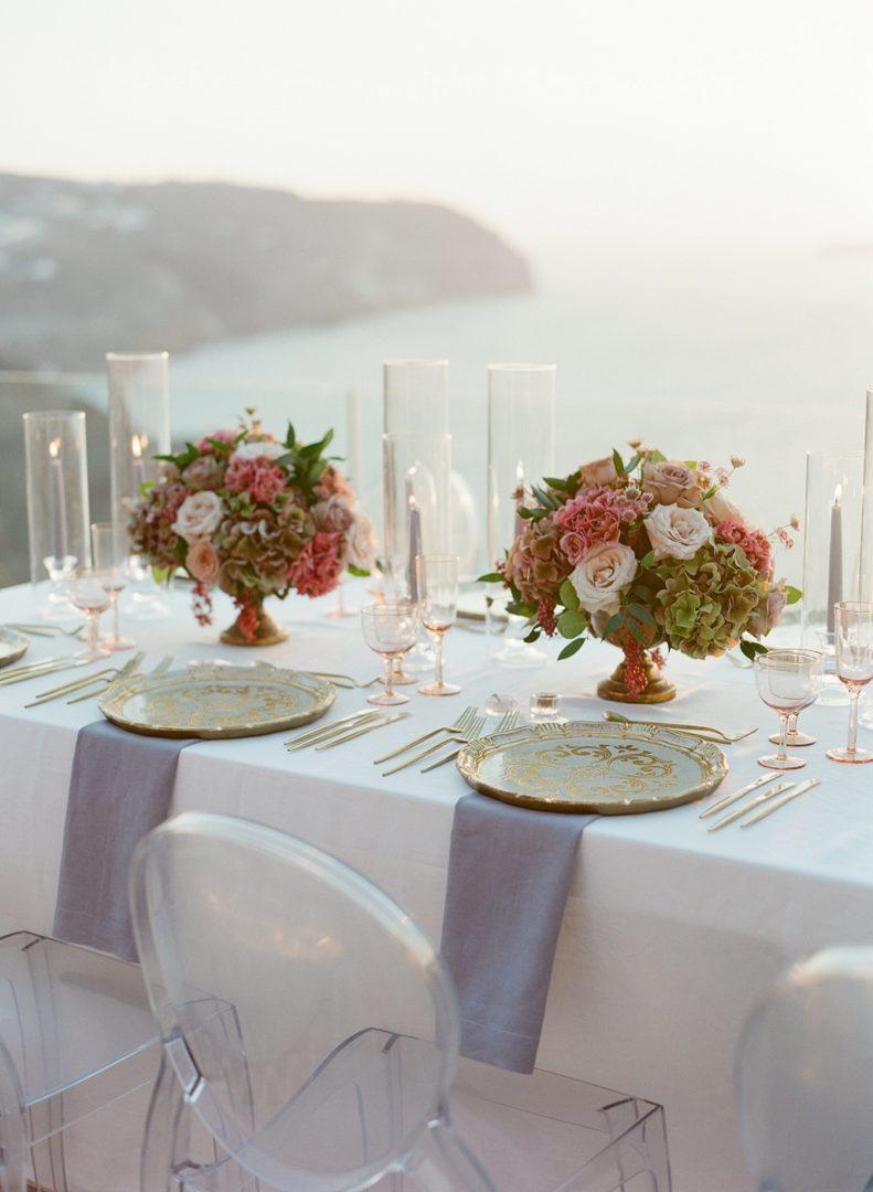 Florist in Santorini