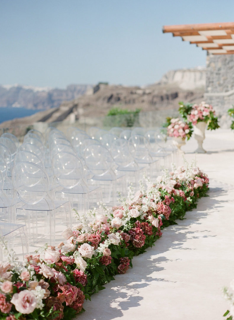 Cavo Ventus Santorini wedding