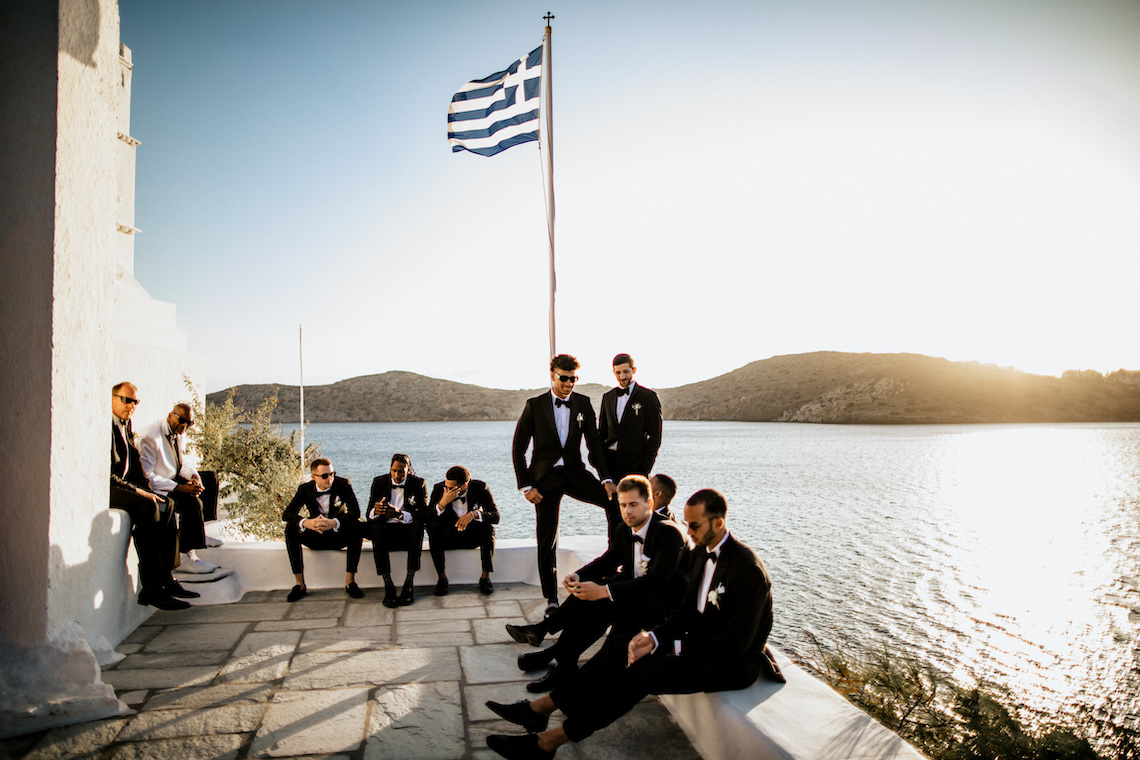 Wedding at the greek islands