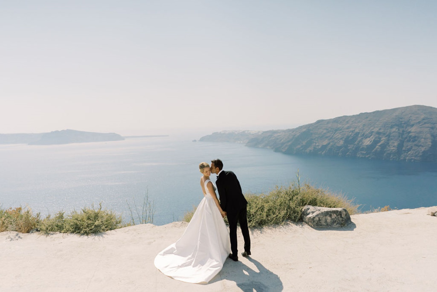 Wedding at Cavo Ventus , Santorini Greece