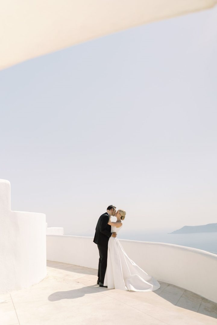 Santorini wedding decoration