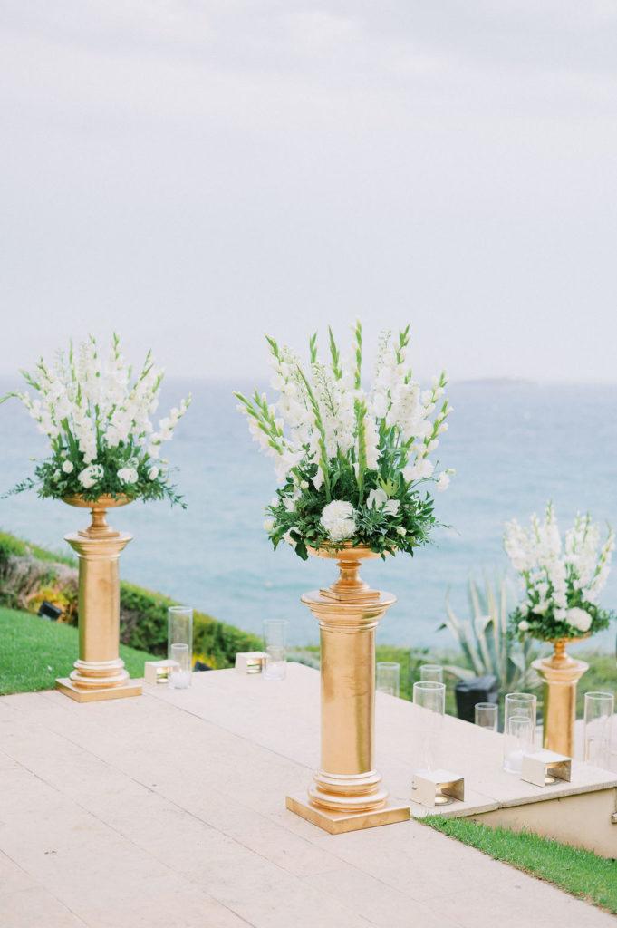 Athens riviera Island flowers decoration