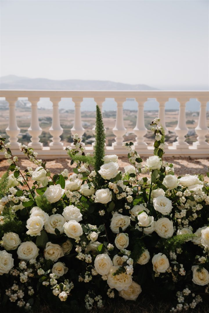 Destination wedding in Paros Greece