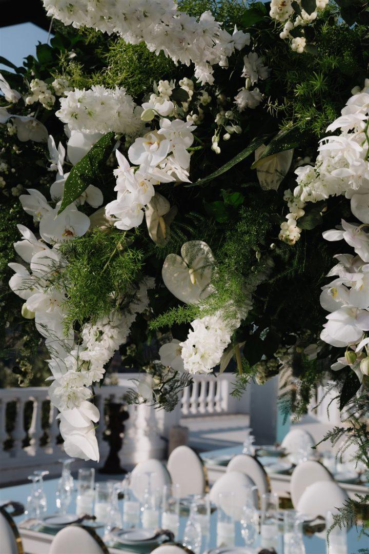 Flowershop in Paros Greece