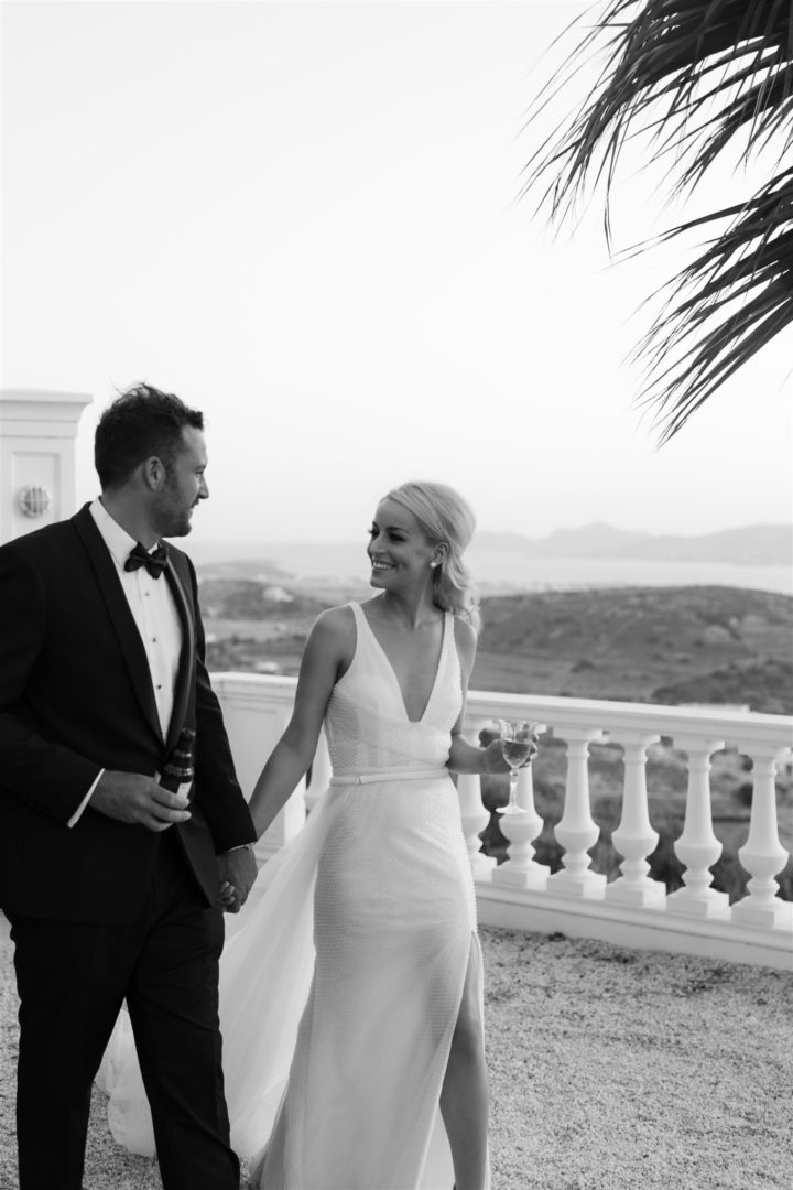 Destination wedding in Paros, Greece