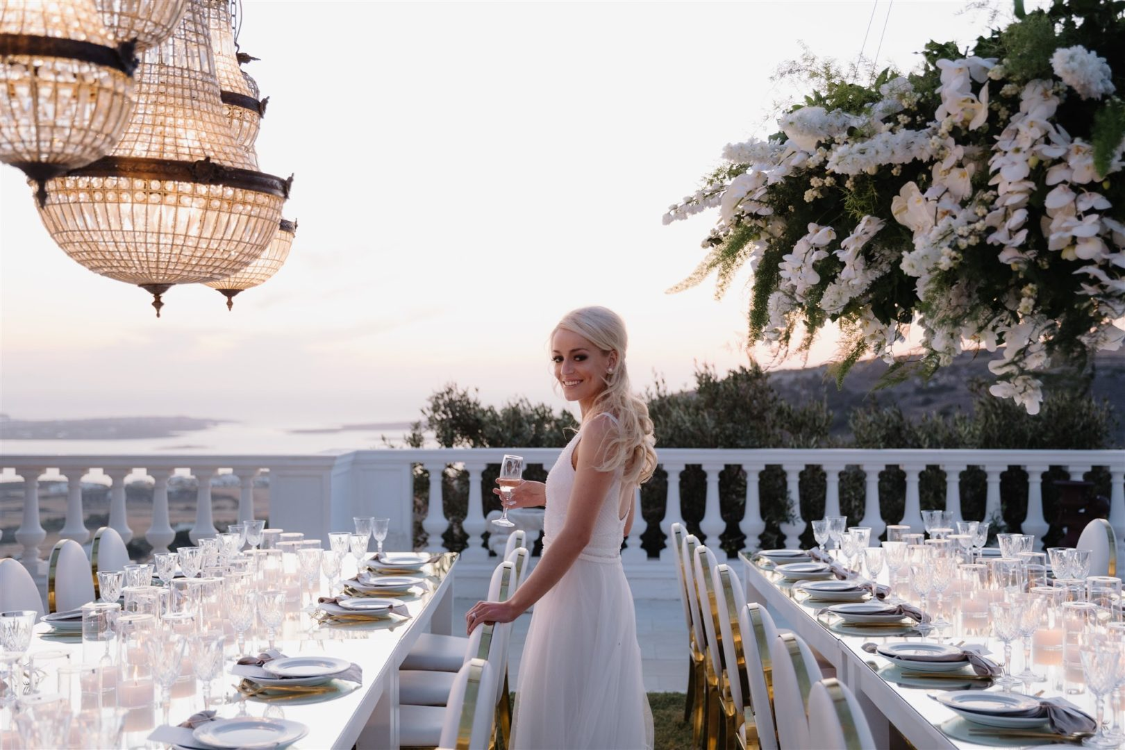 Wedding Floral designer in Paros Greece