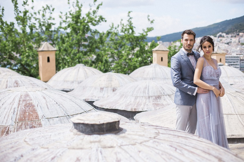 Luxury elopement in Greece