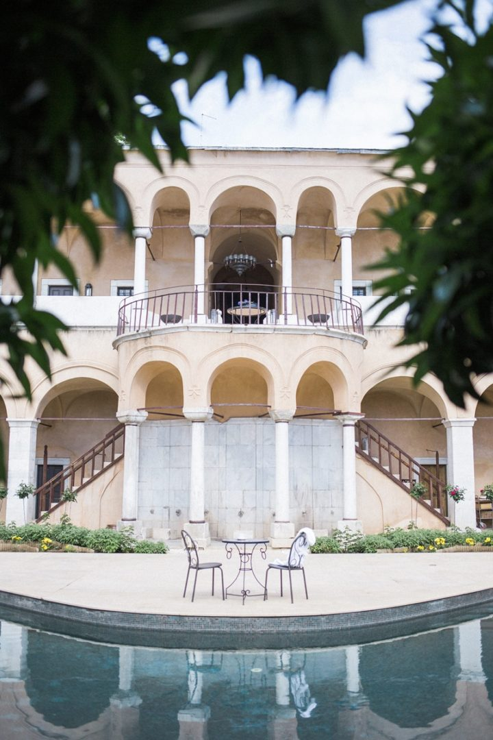 Luxury elopement at Imaret Hotel Greece