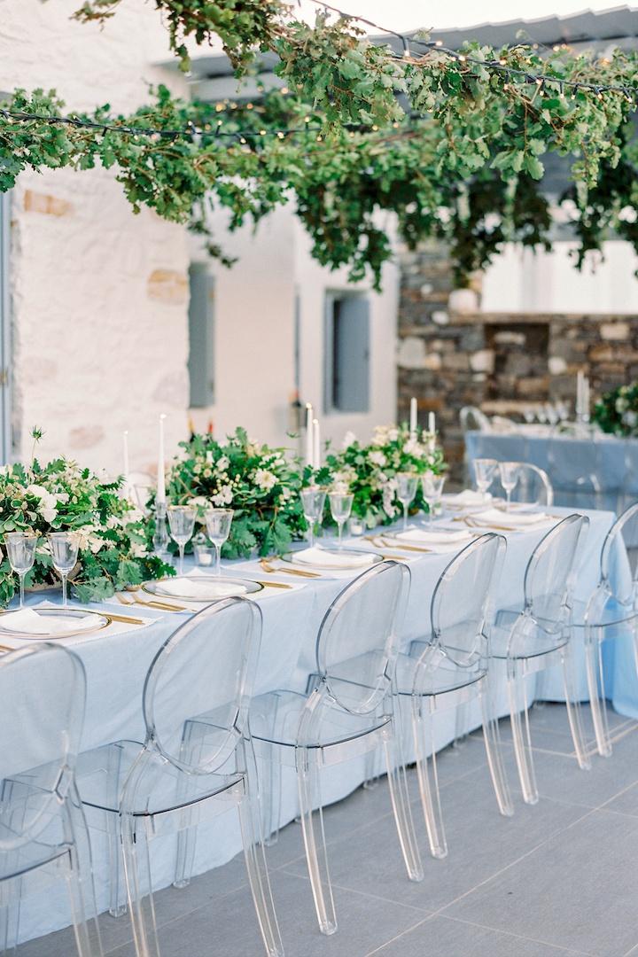 Summer wedding in Paros