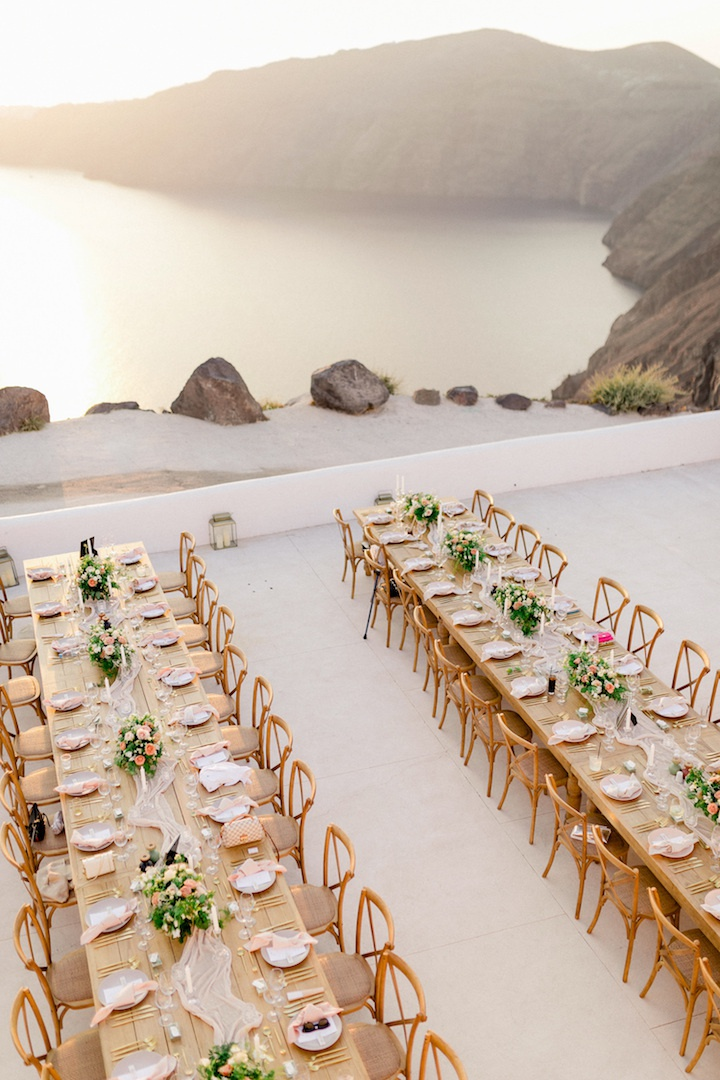 Santorini wedding at Rocabella
