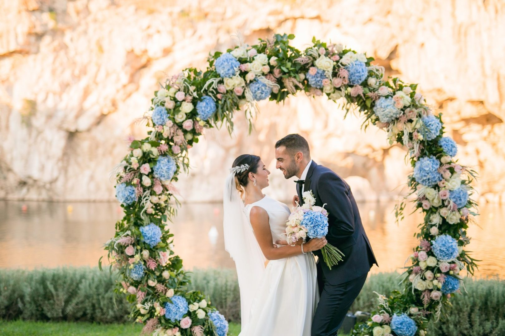 Flower decoration in Athens Riviera Greece